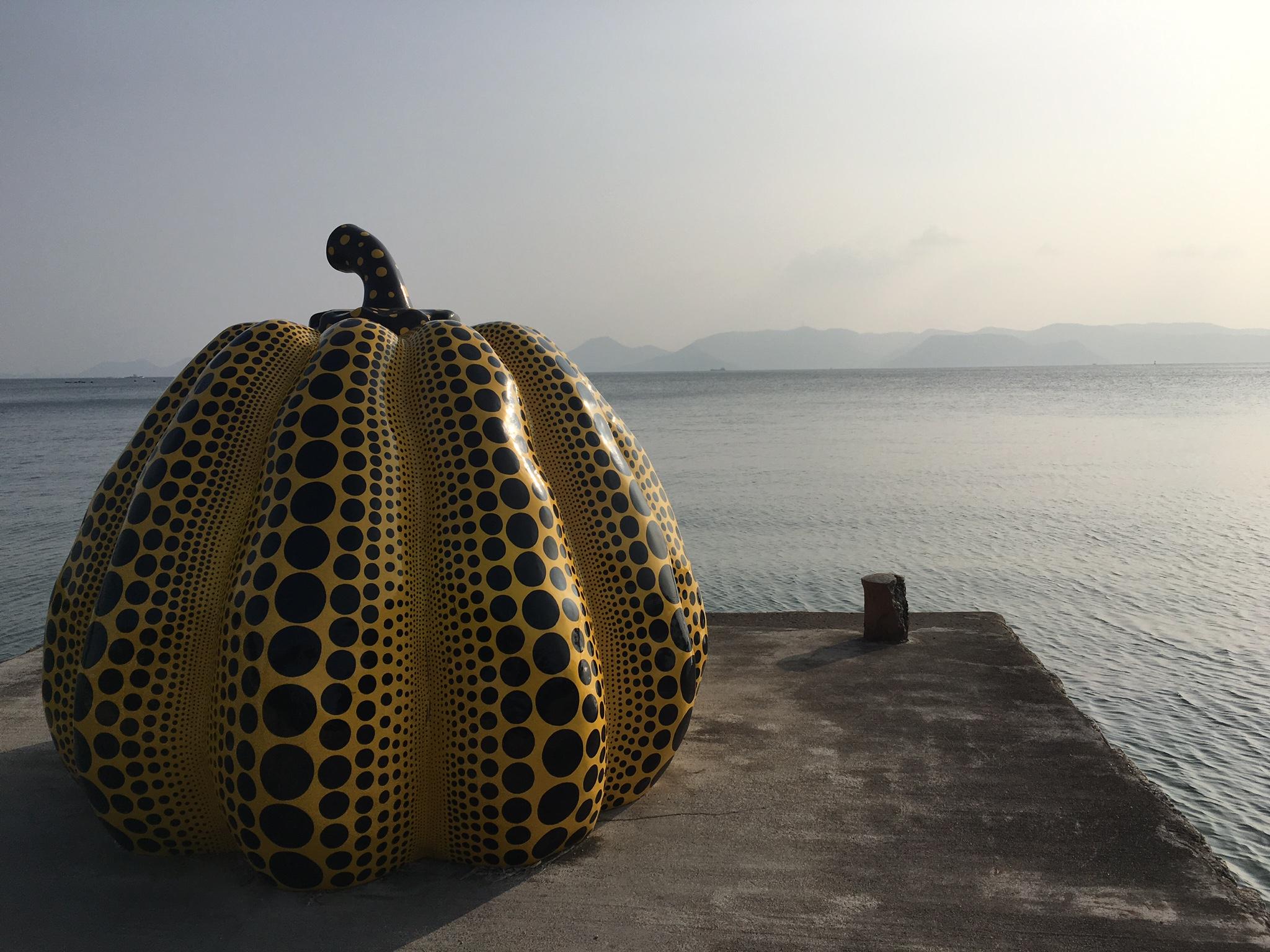 Yayoi Kusama's Yellow Pumpkin