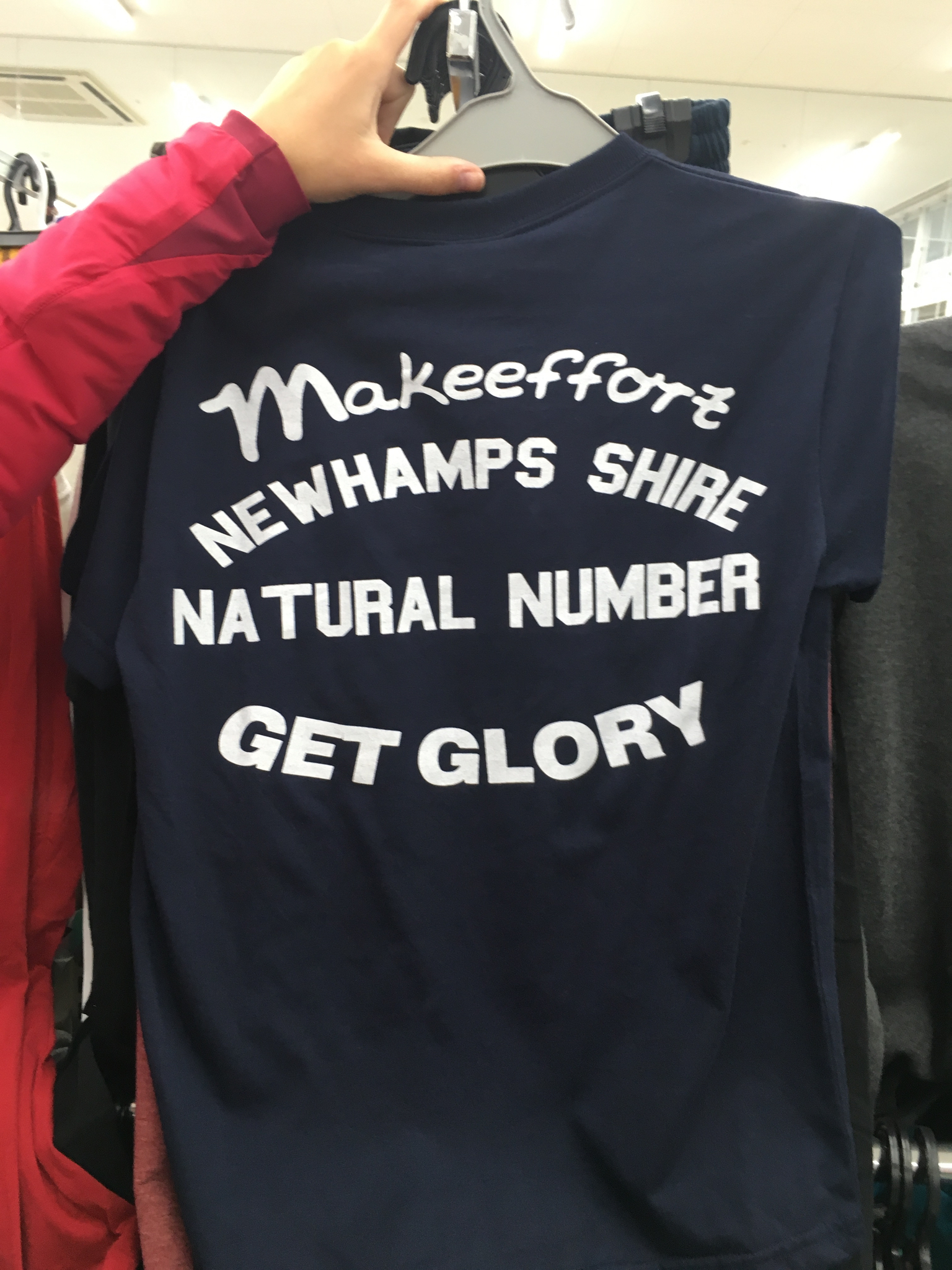 AMAZING shirt in the supermarket