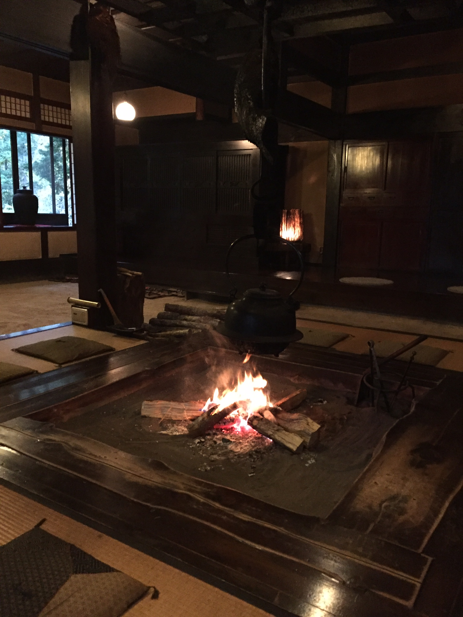 Fireplace in the main room