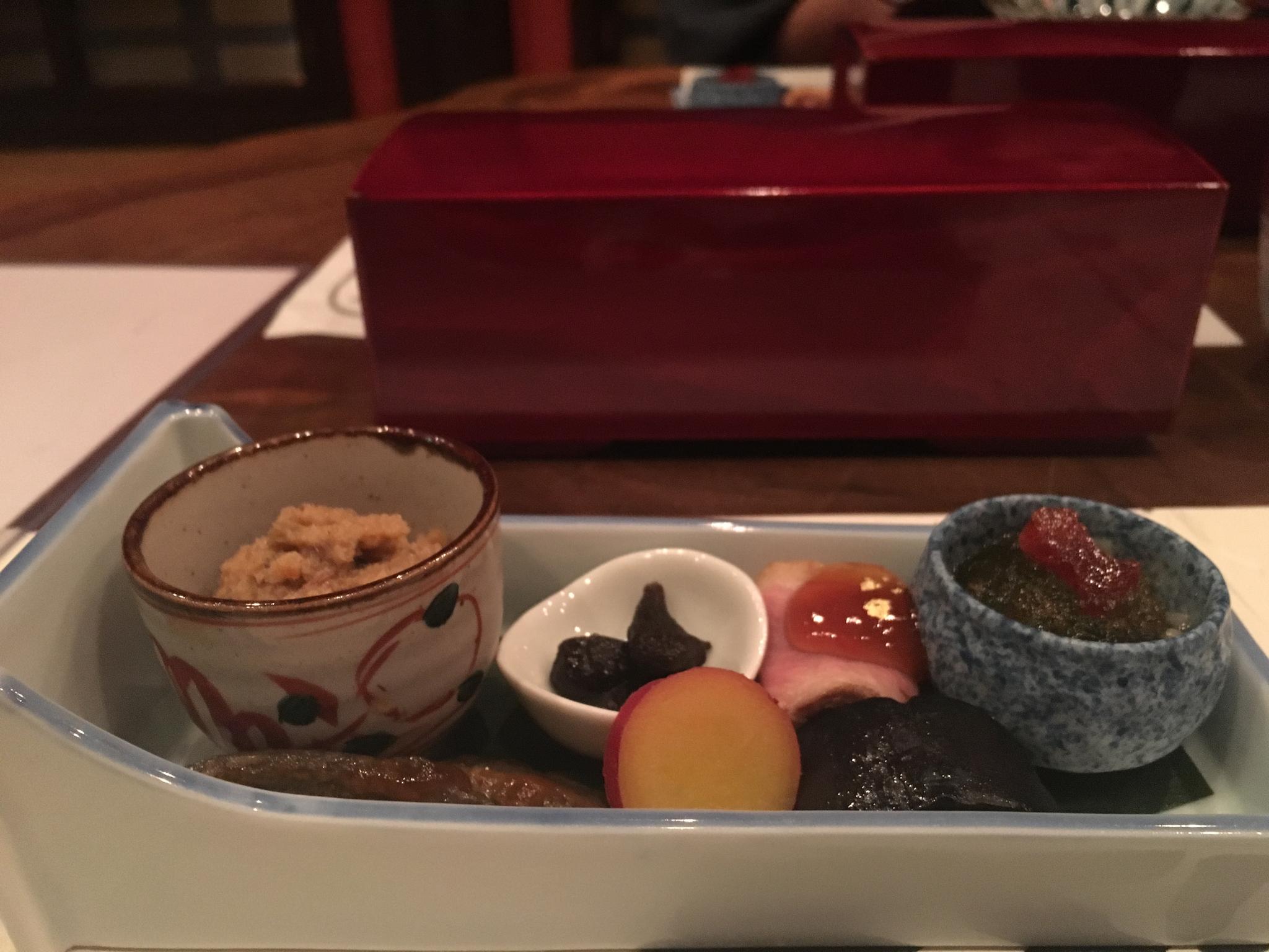 Kaiseki - first course