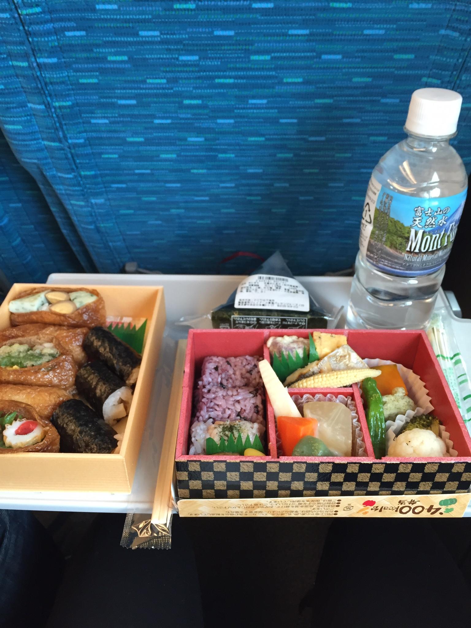 Bento Boxes on the Shinkansen!