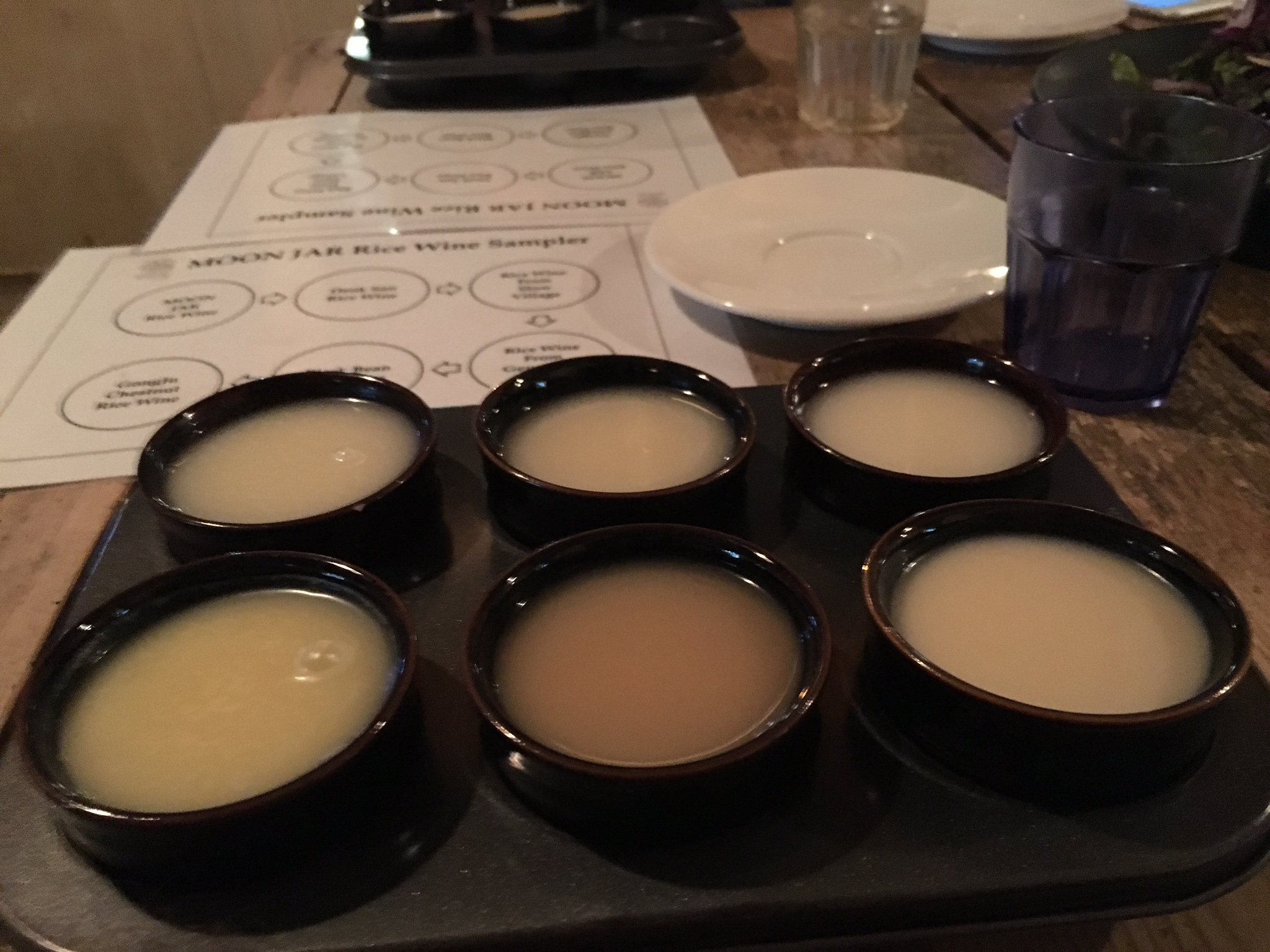 Makgeolli Tasting at Moon Jar