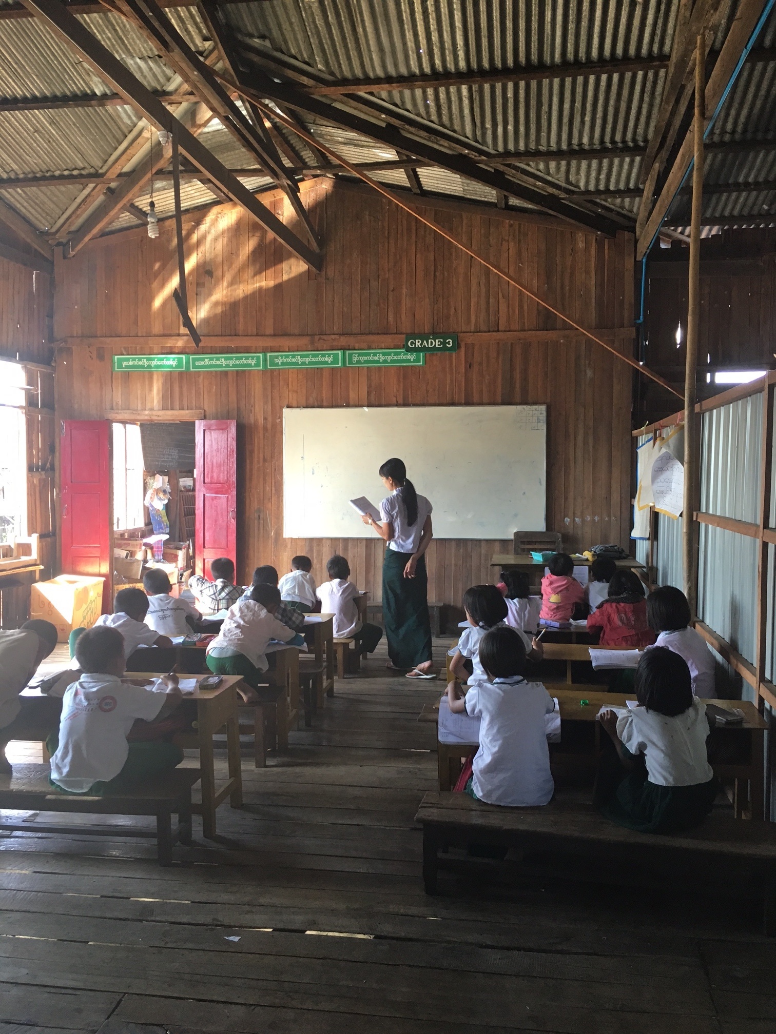3rd grade in Inle
