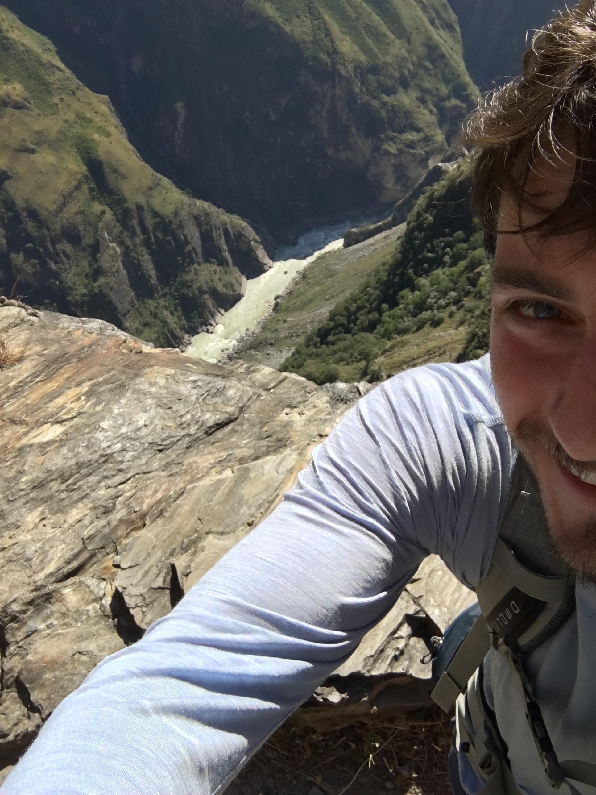 Selfie on the edge...
