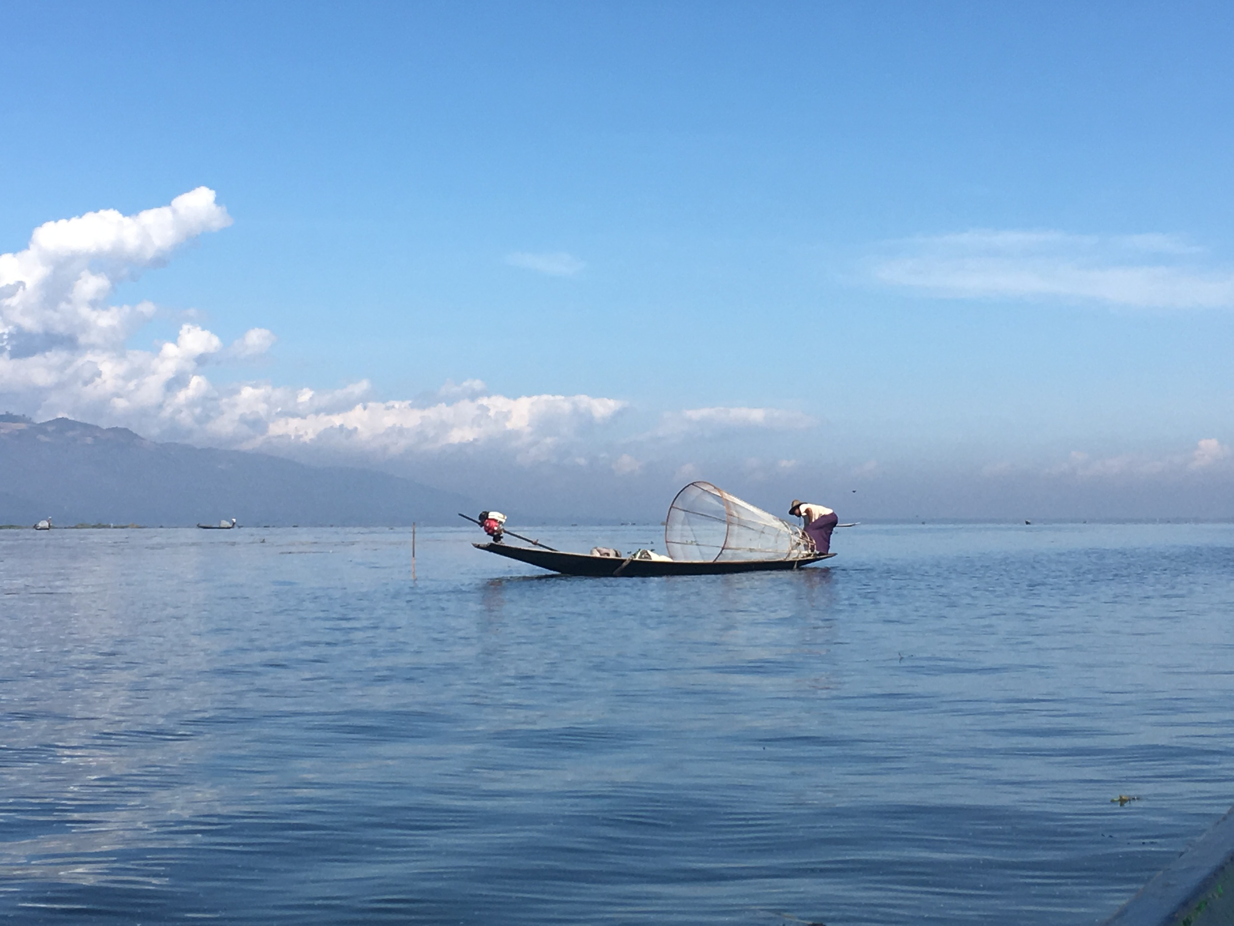 The famous Inle fishermen