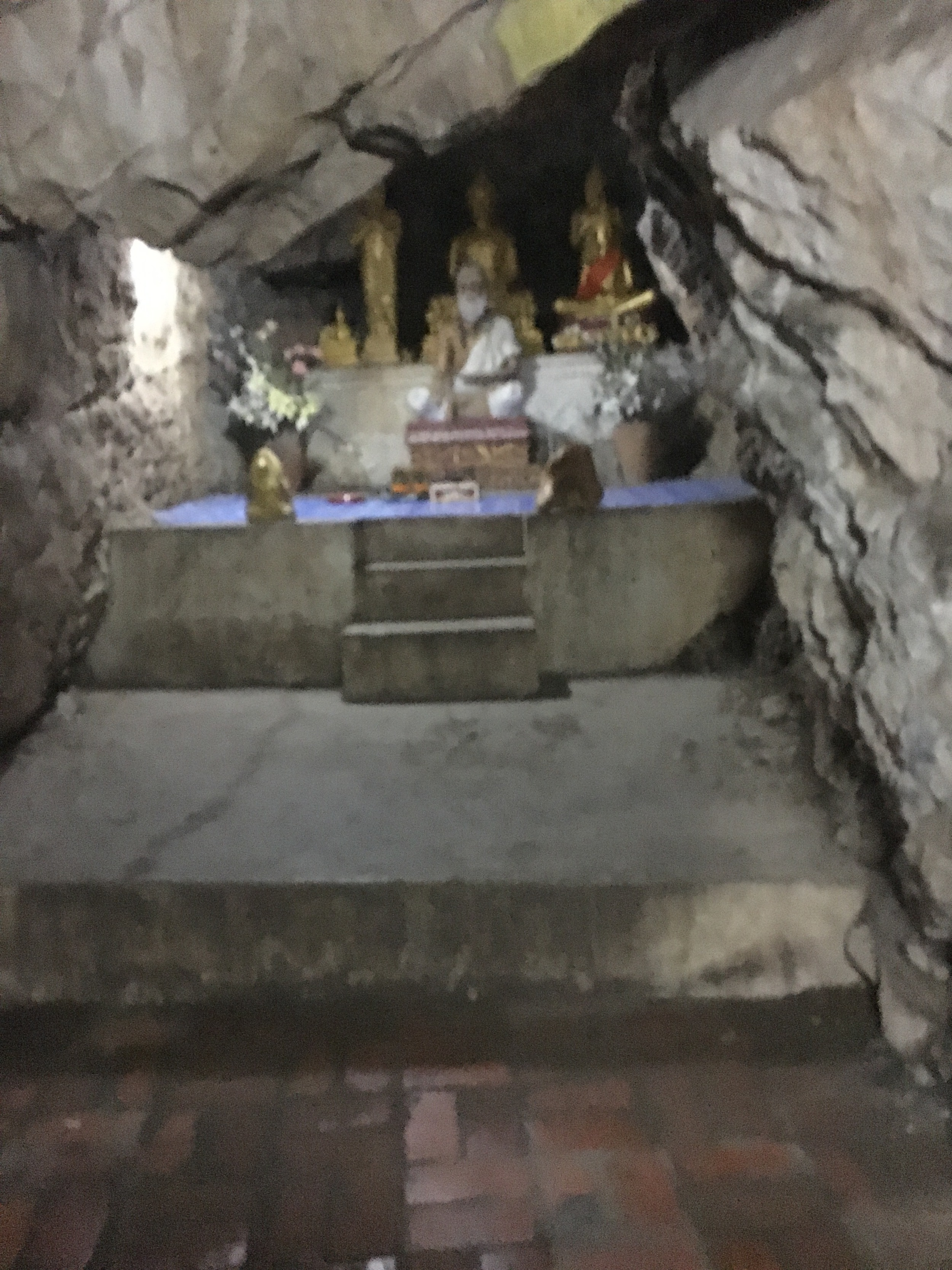 Shrines along the way to the top