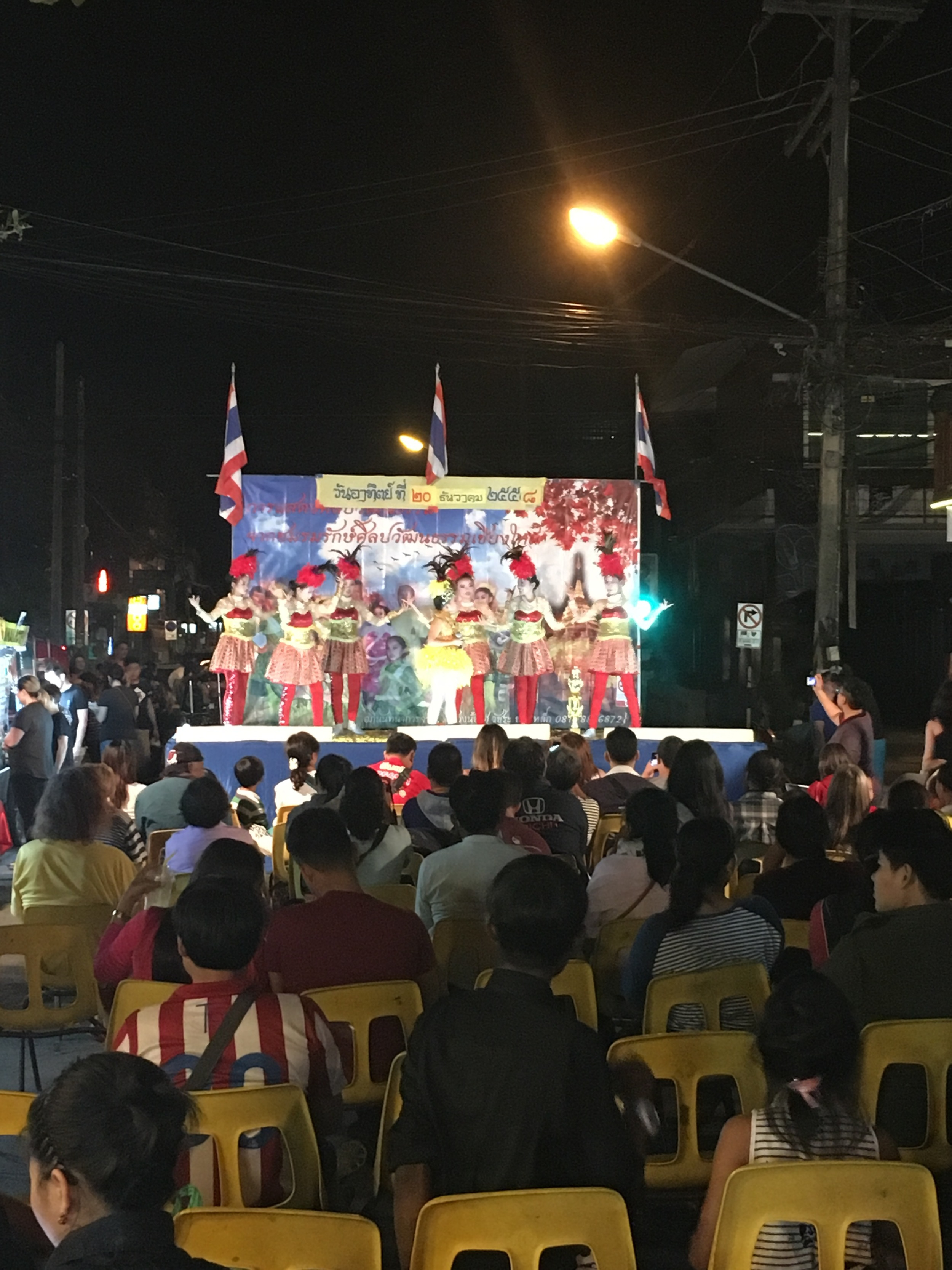 Night market pageant like kids show