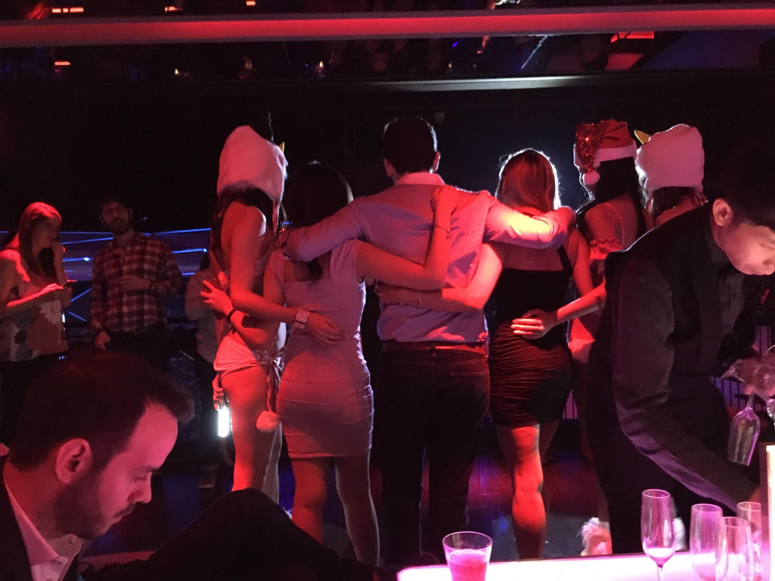 Pre-wedding clubbing