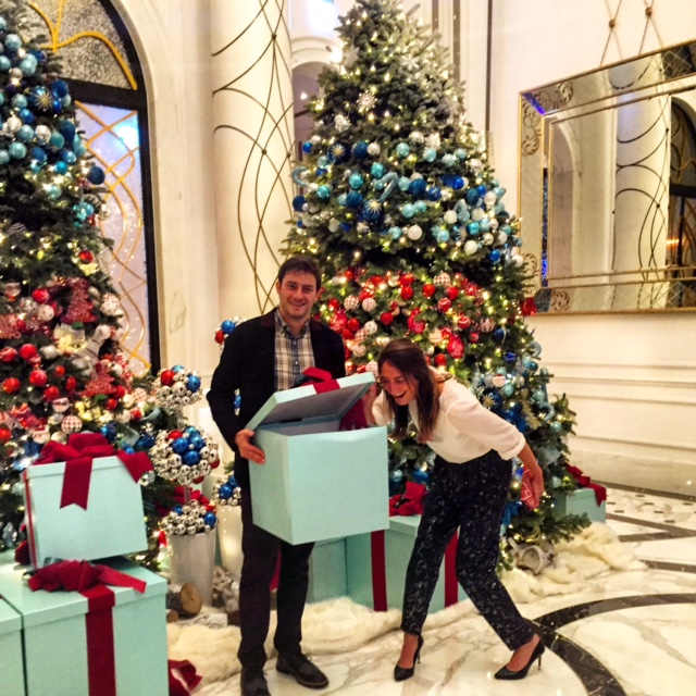 Obligatory Mandarin Oriental Christmas photoshoot