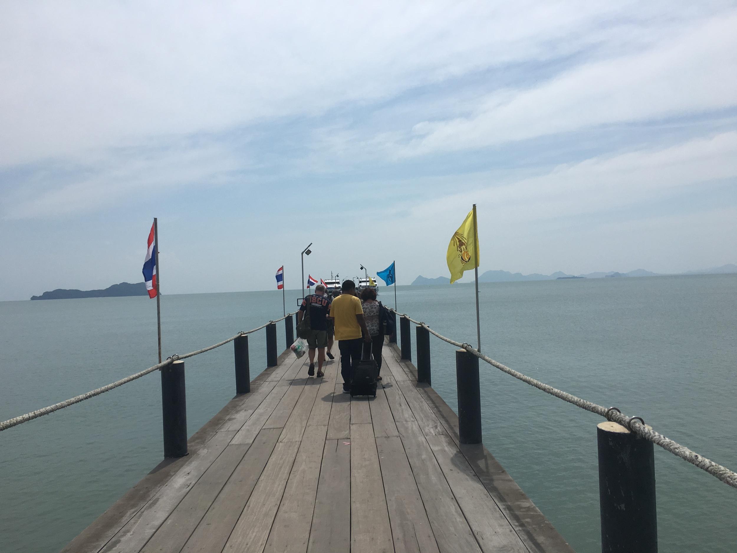 Ferry to Phangan