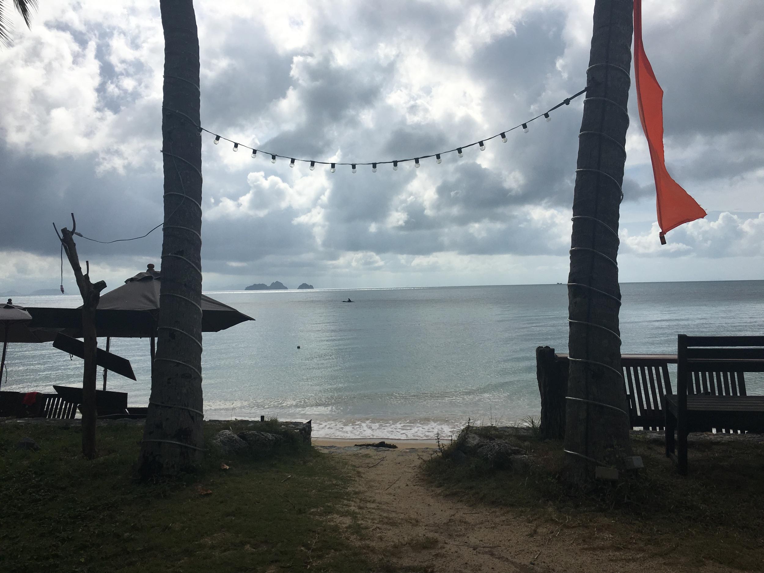 Quiet beach on Southwest Samui