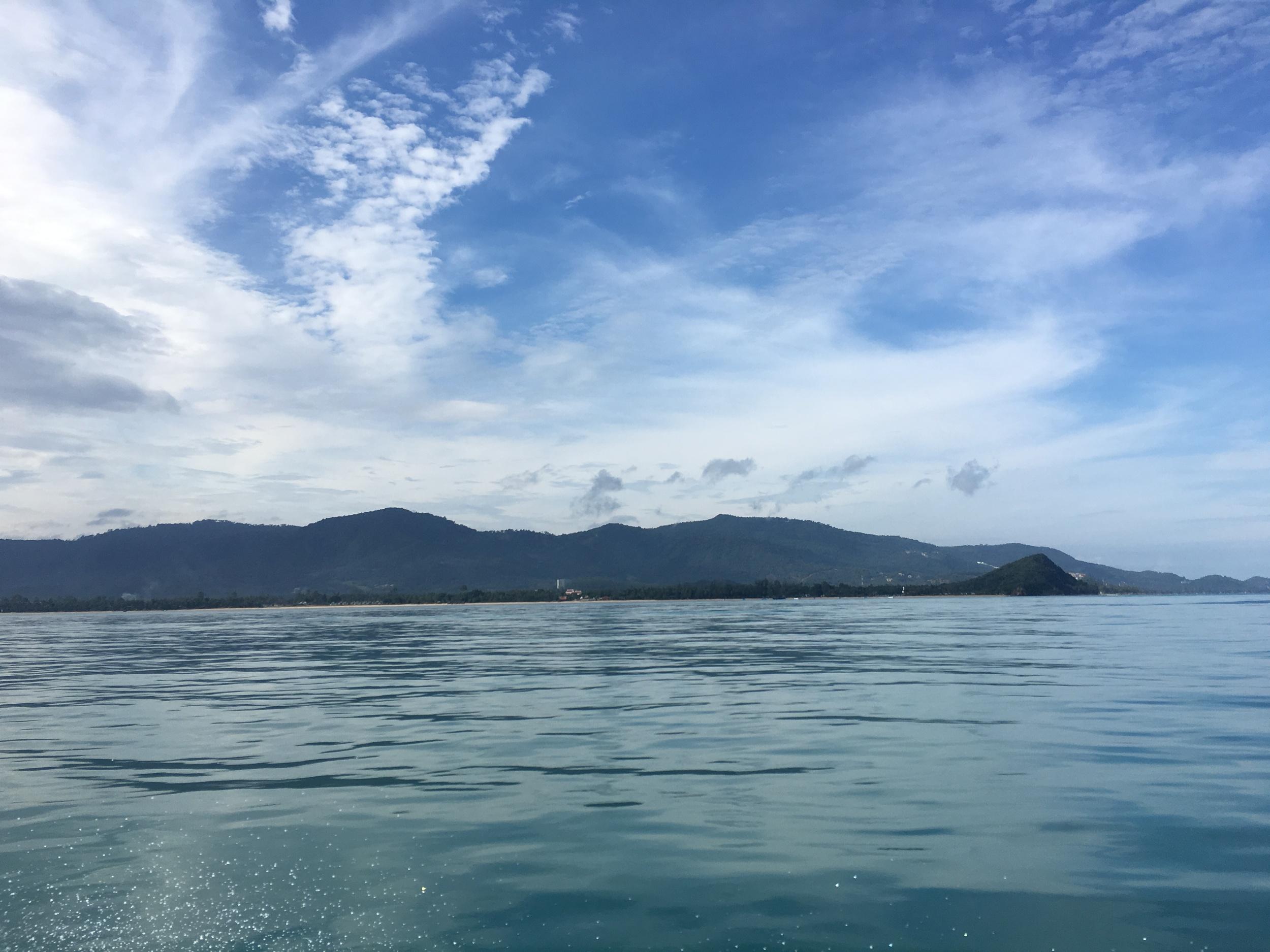 En route to An Thong Marine Park