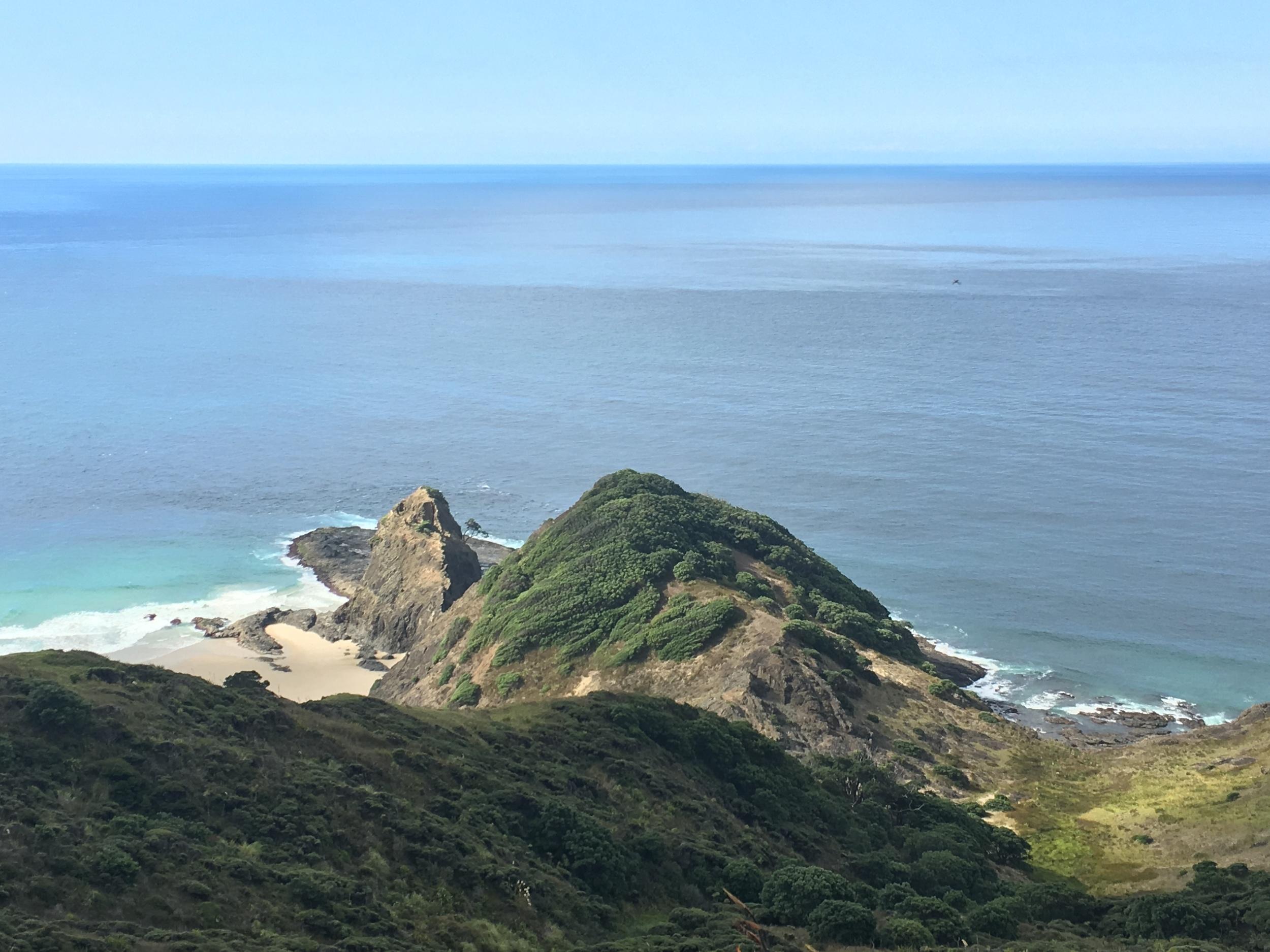Te Rerenga Wairua, a sacred place for the Maori