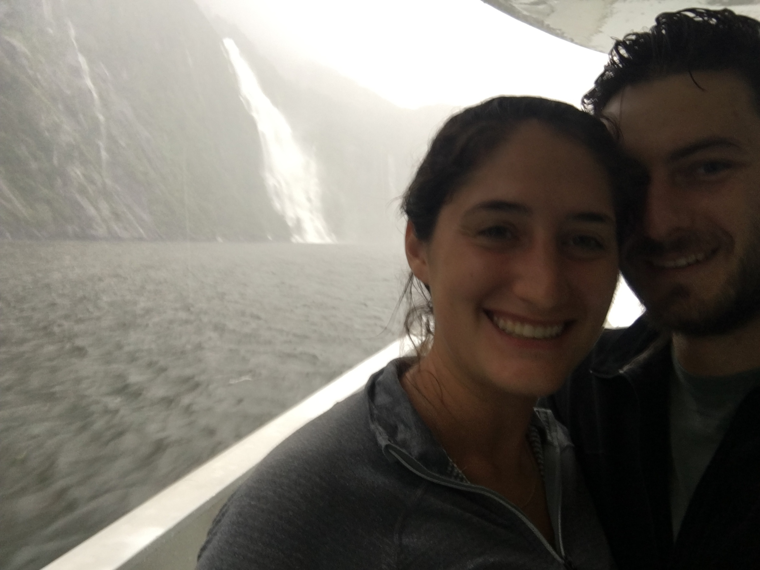 Soaked, but lucky to see all the waterfalls that occur only when it rains