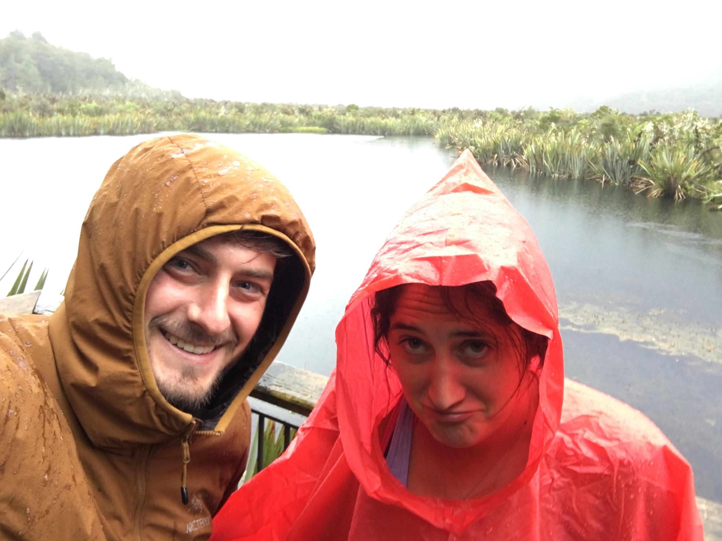 Poncho sadness at Mirror Lakes