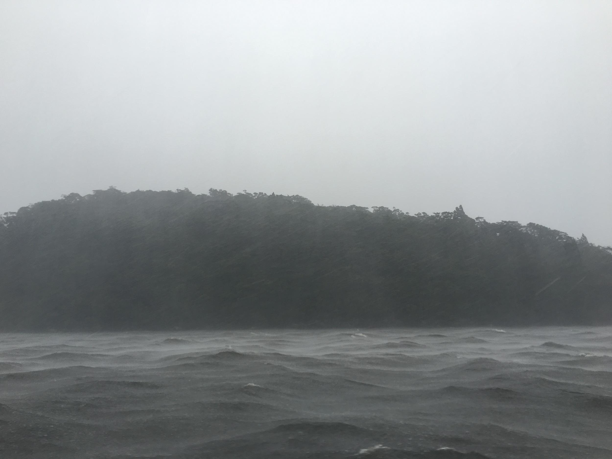 Rainy Doubtful Sound