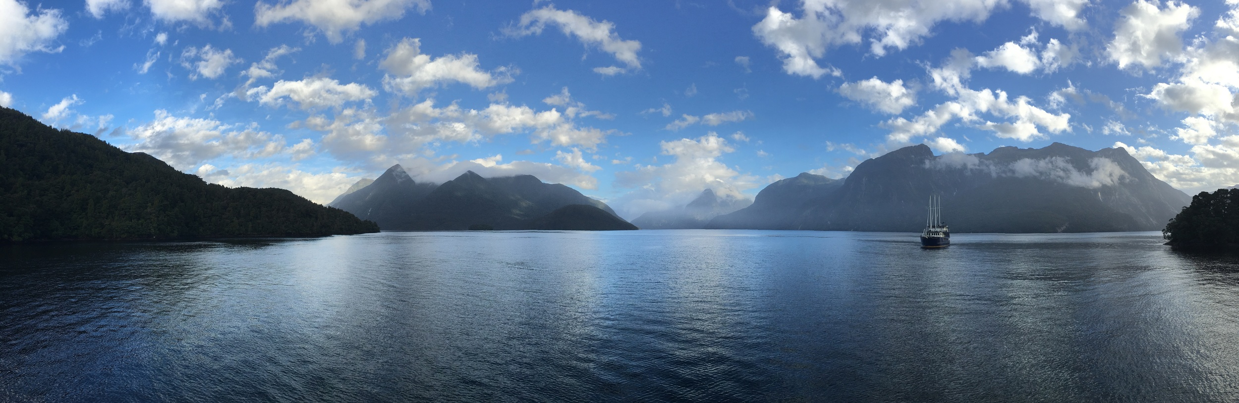 Gorgeous Doubtful Sound after the rain