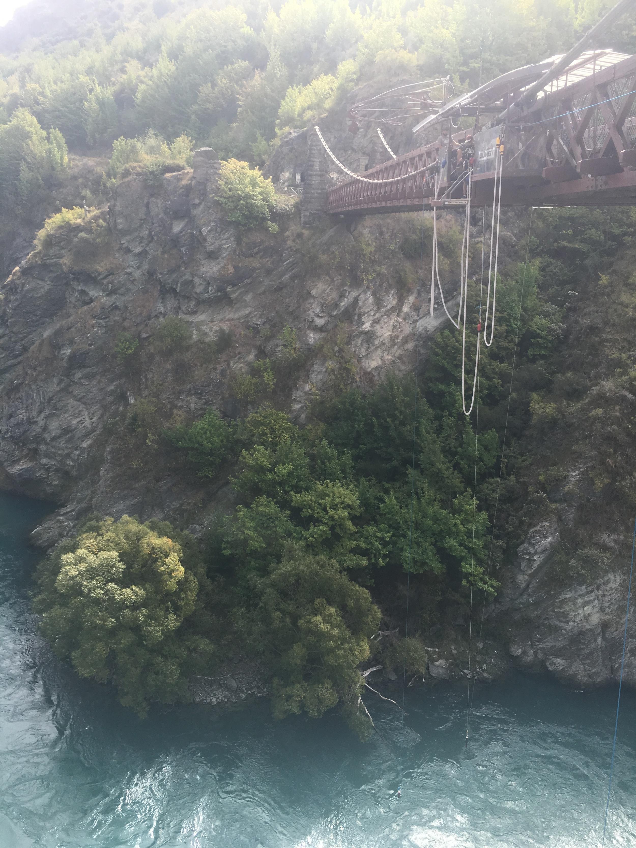 AJ Hackett Bungy Jump at Kawarau Bridge
