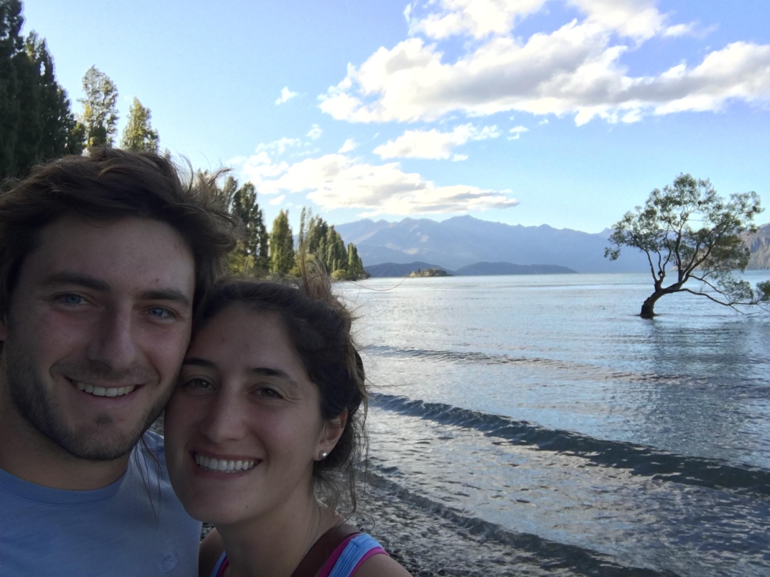 Selfie with Wanaka's Lone Tree