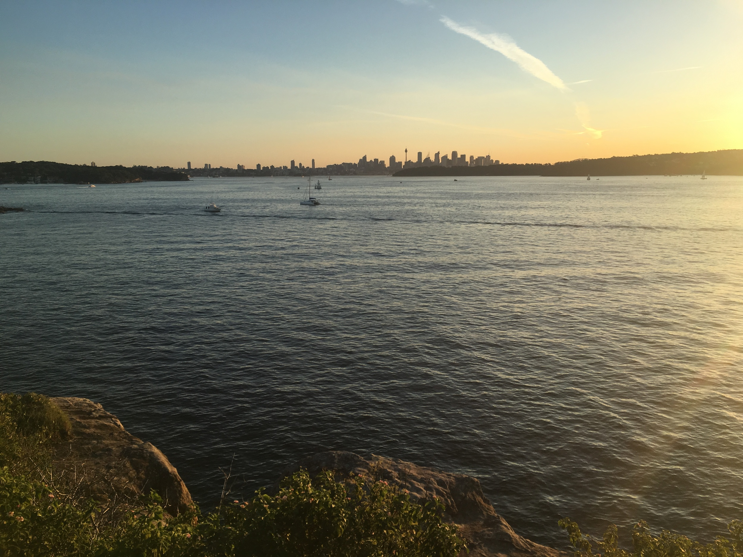 Sydney sunset from Watsons bay
