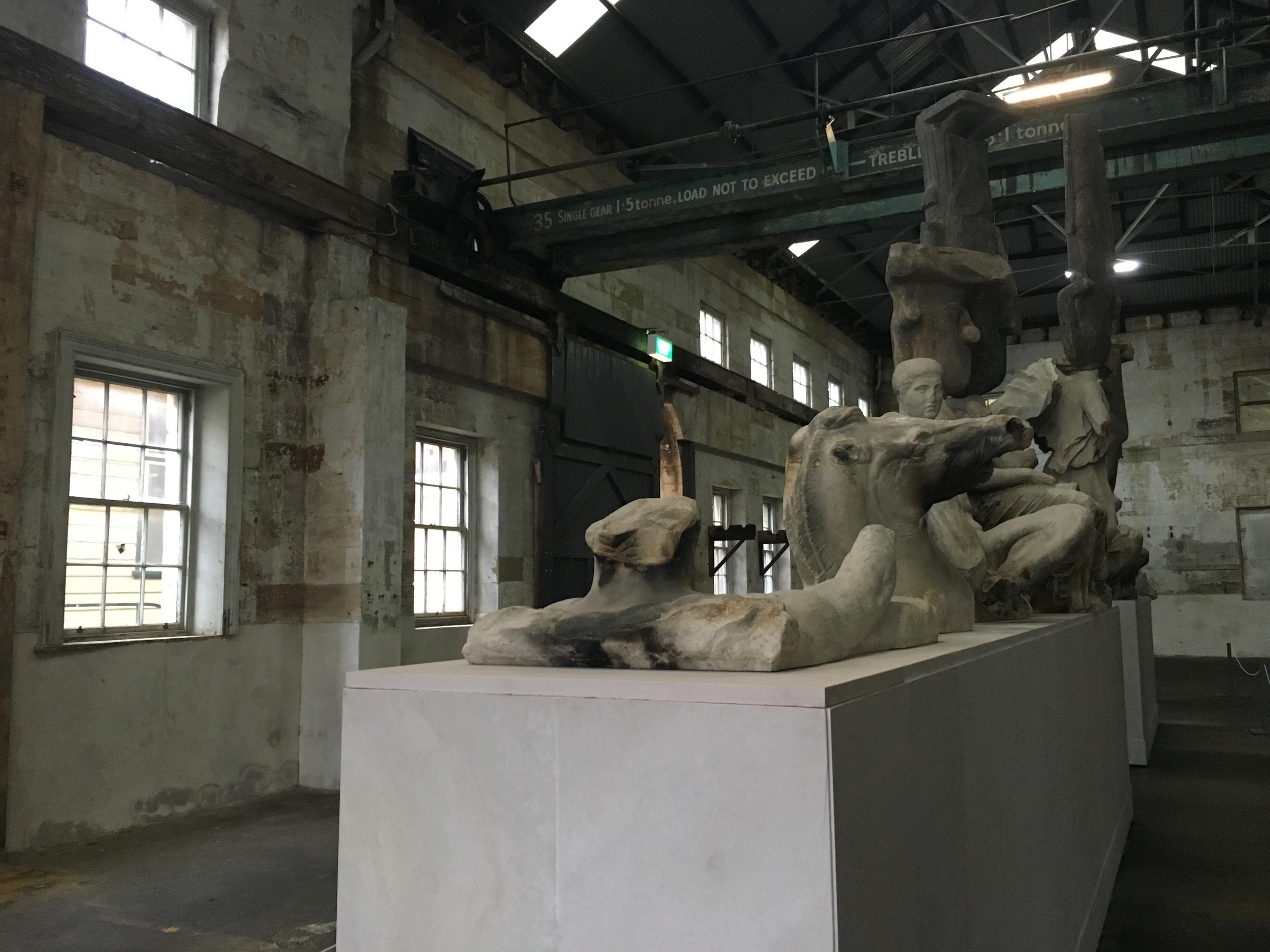Biennale of Sydney on Cockatoo Island