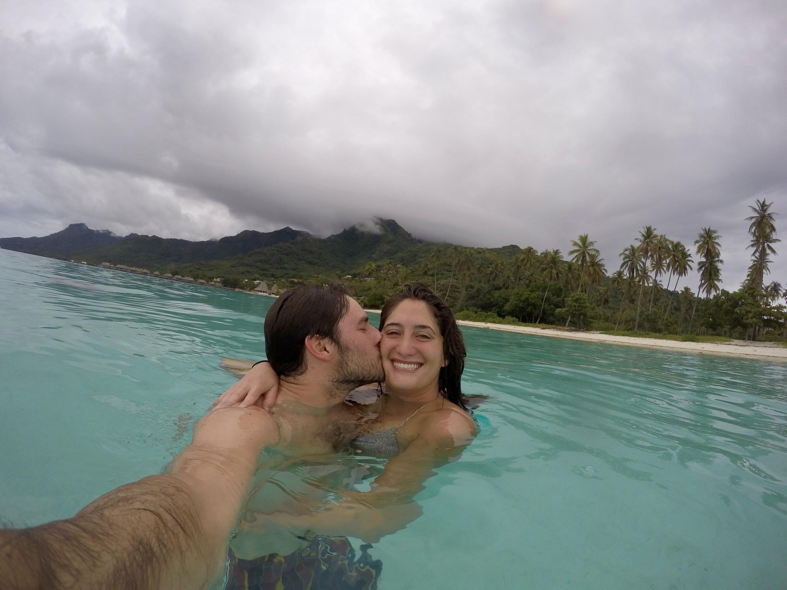 Lagoon selfie