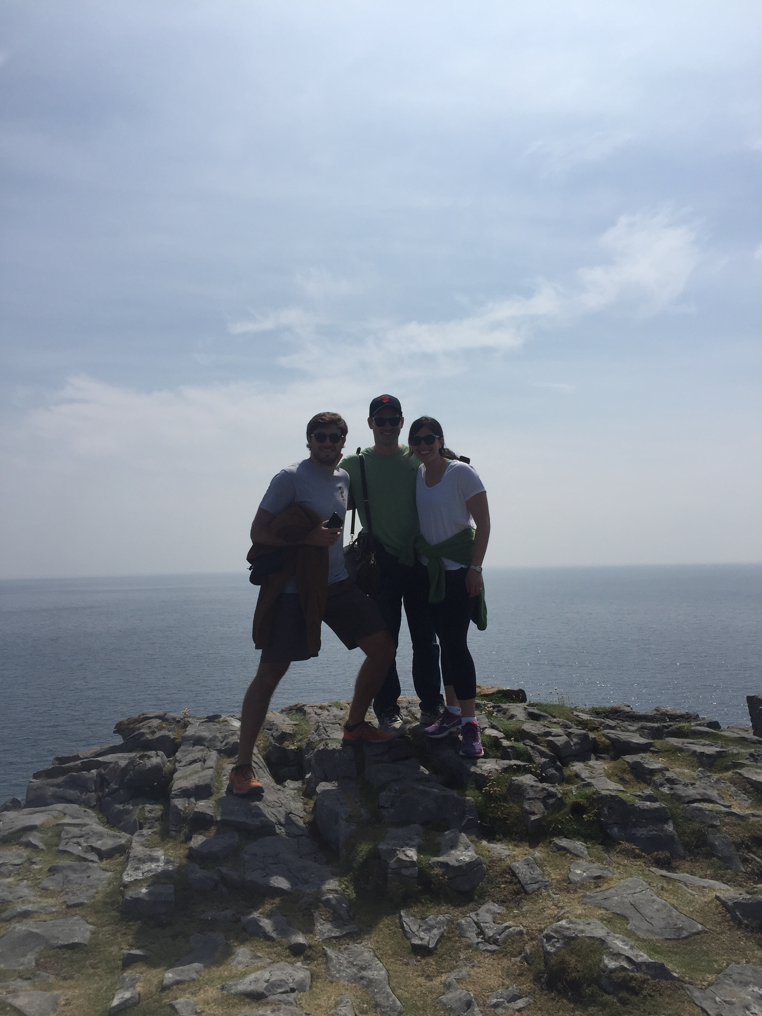 Top of Dun Aonghasa, a fort on Inishmore