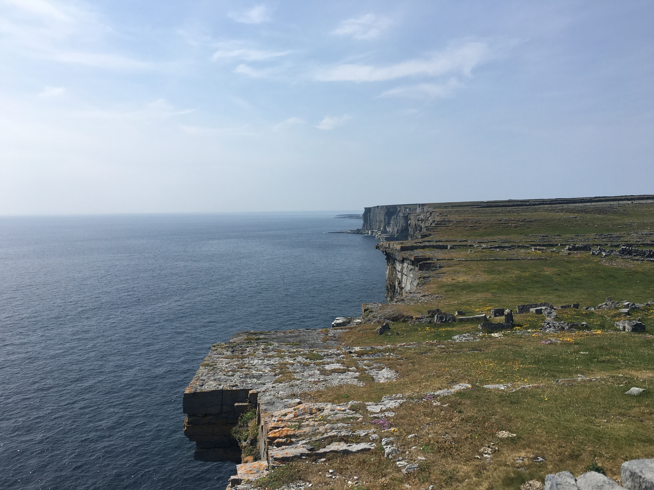 View from Dun Aonghasa