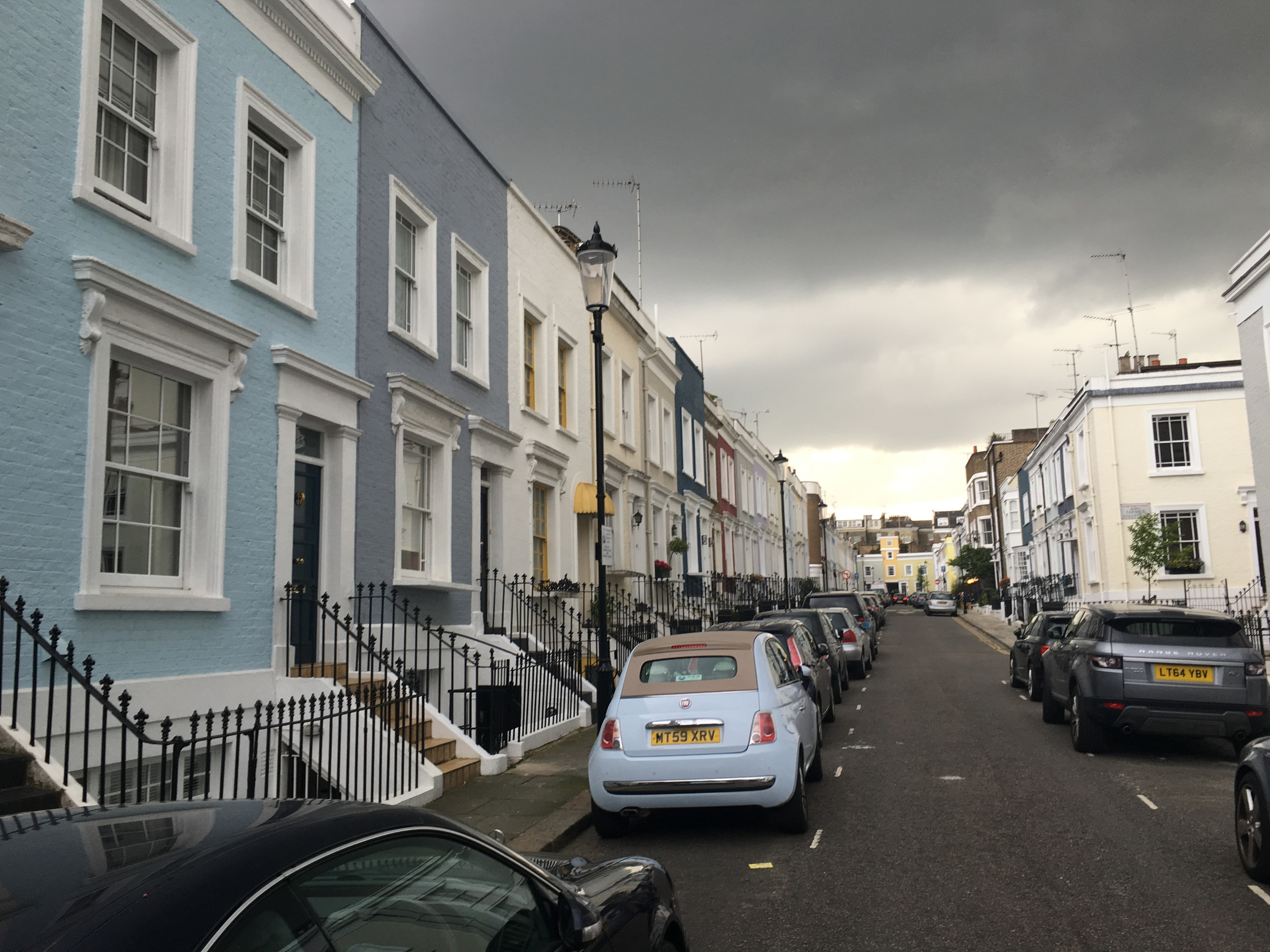 London about to rain