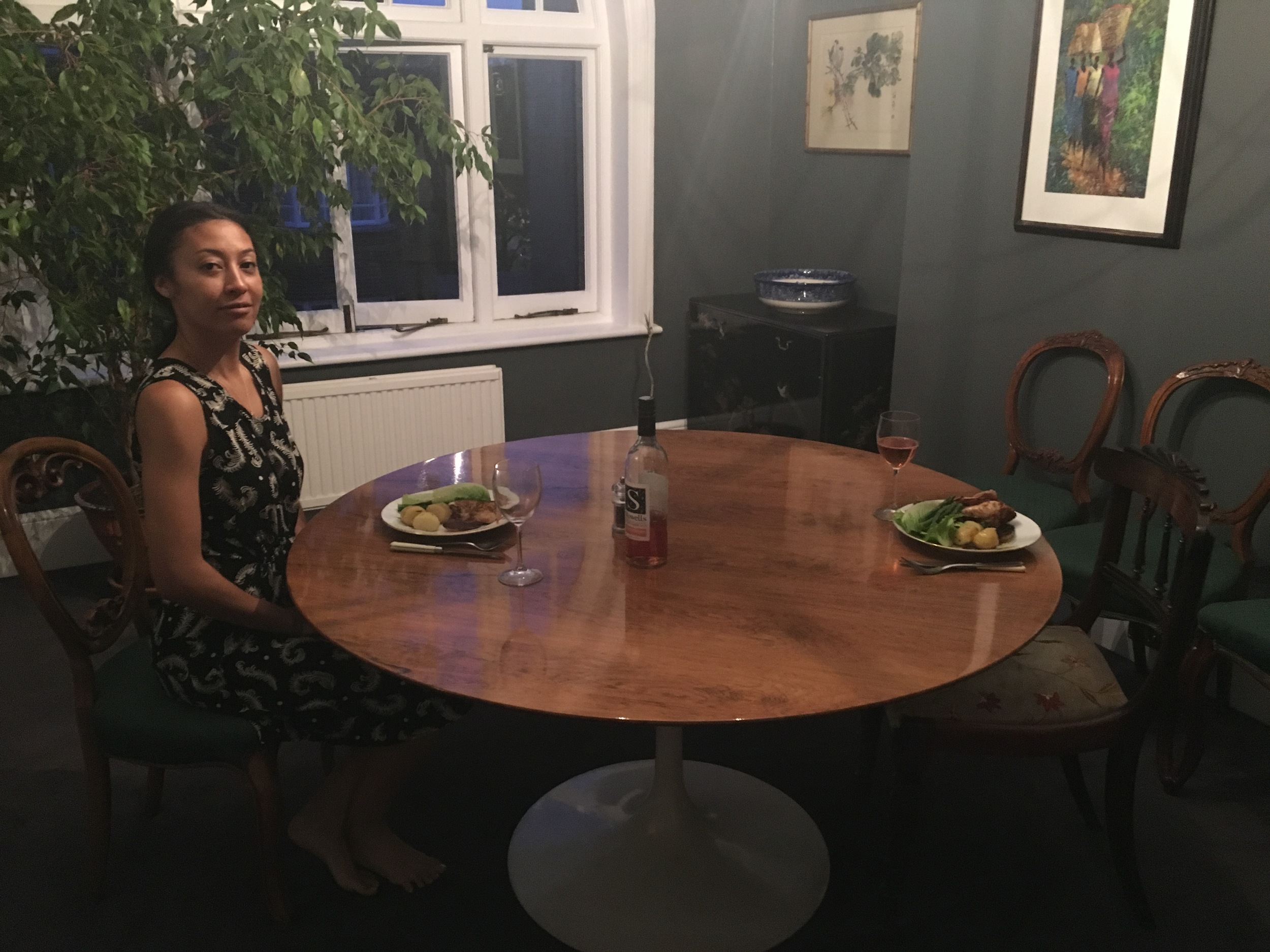 Dinner Party for 1 + Invisible Friend