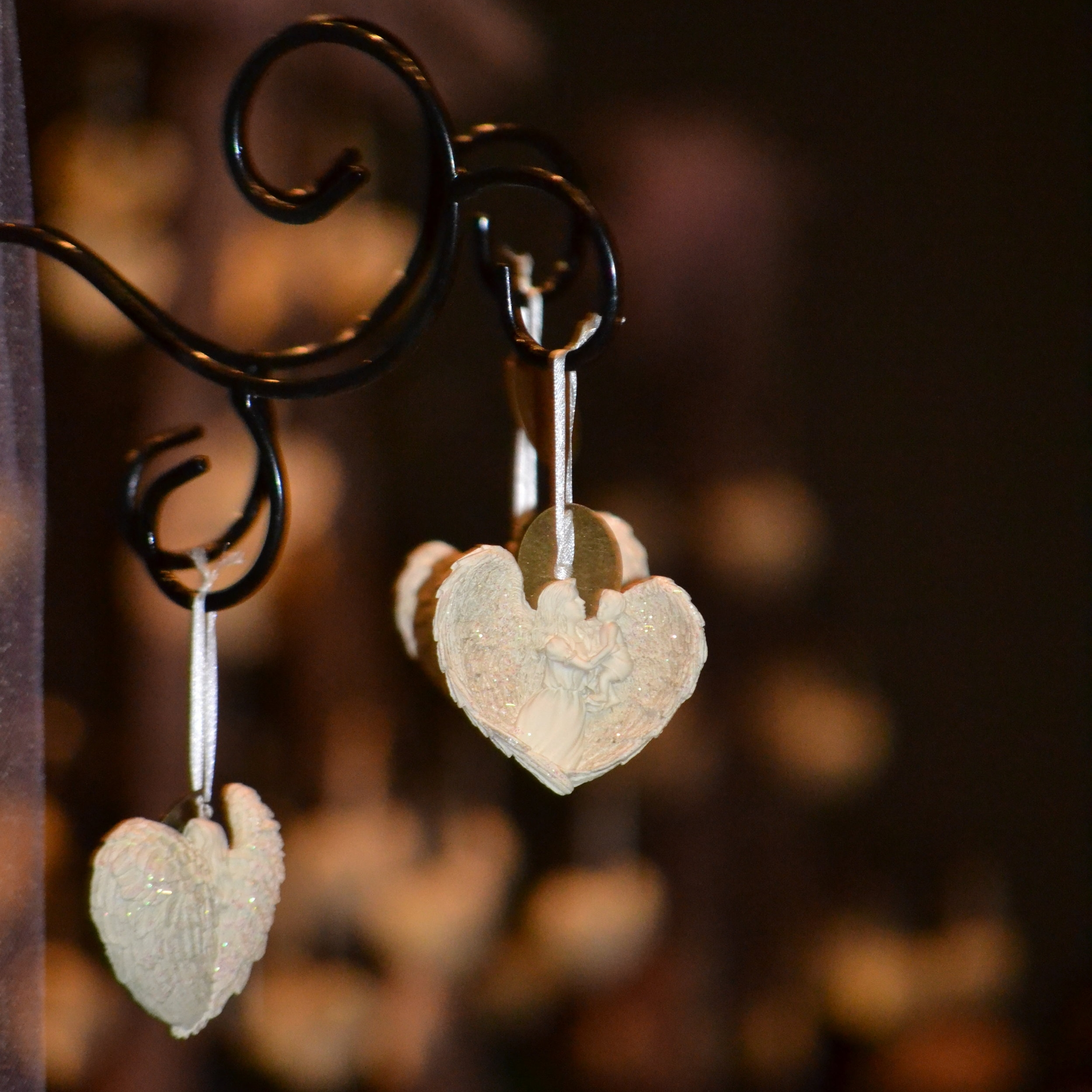 Unique ornaments are carefully selected for every Walk to Remember as a token of remembrance for each family.