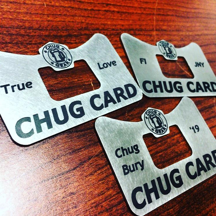 Custom Chug Card