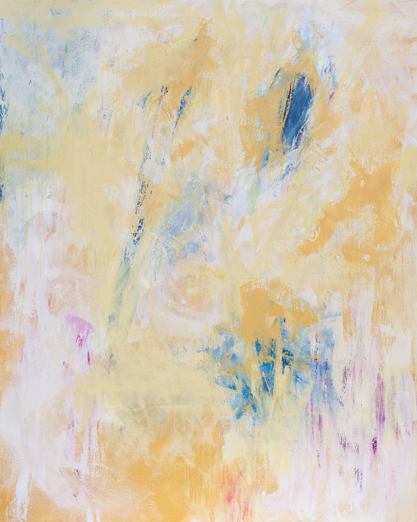 """Alchemy 2"" - 48"" x 60"" - acrylic on canvas mounted on panel"