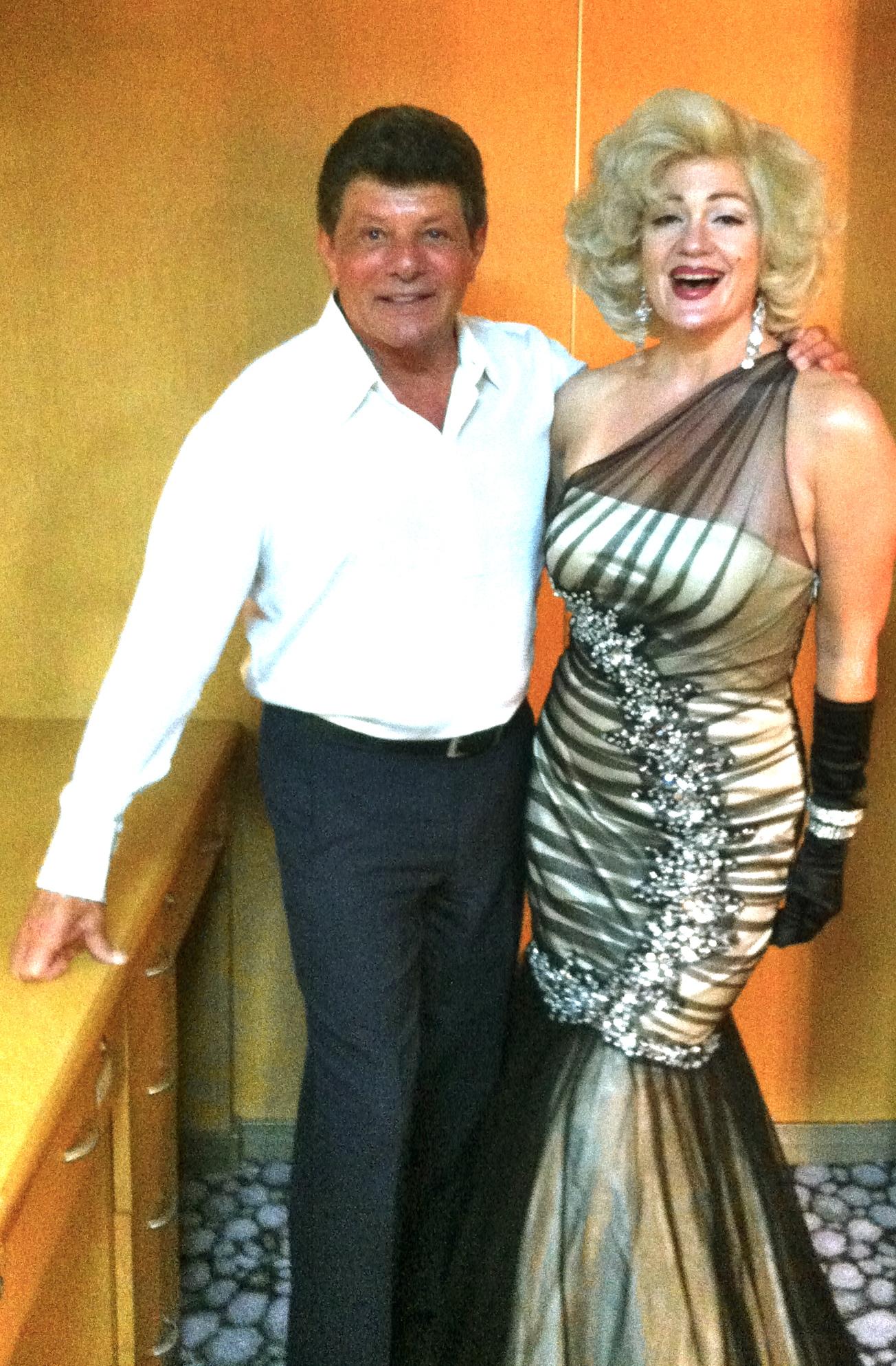 Sheri with Frankie Avalon