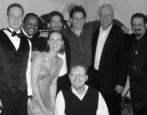 The band with Boston Pops Maestro Keith Lockhart