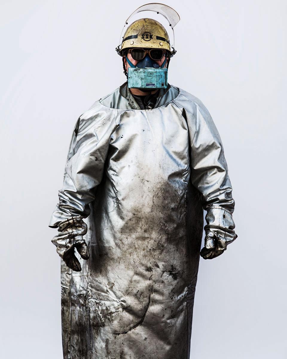 A shipyard worker Sasebo, 2016