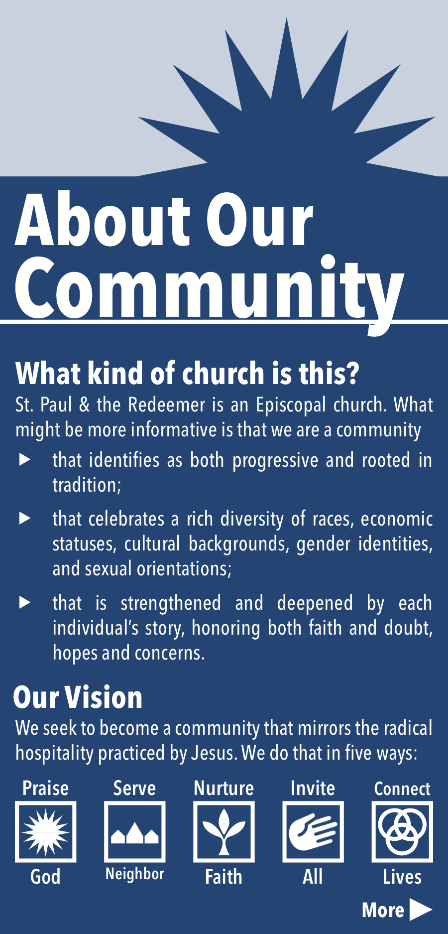 Pew Card with Church Info
