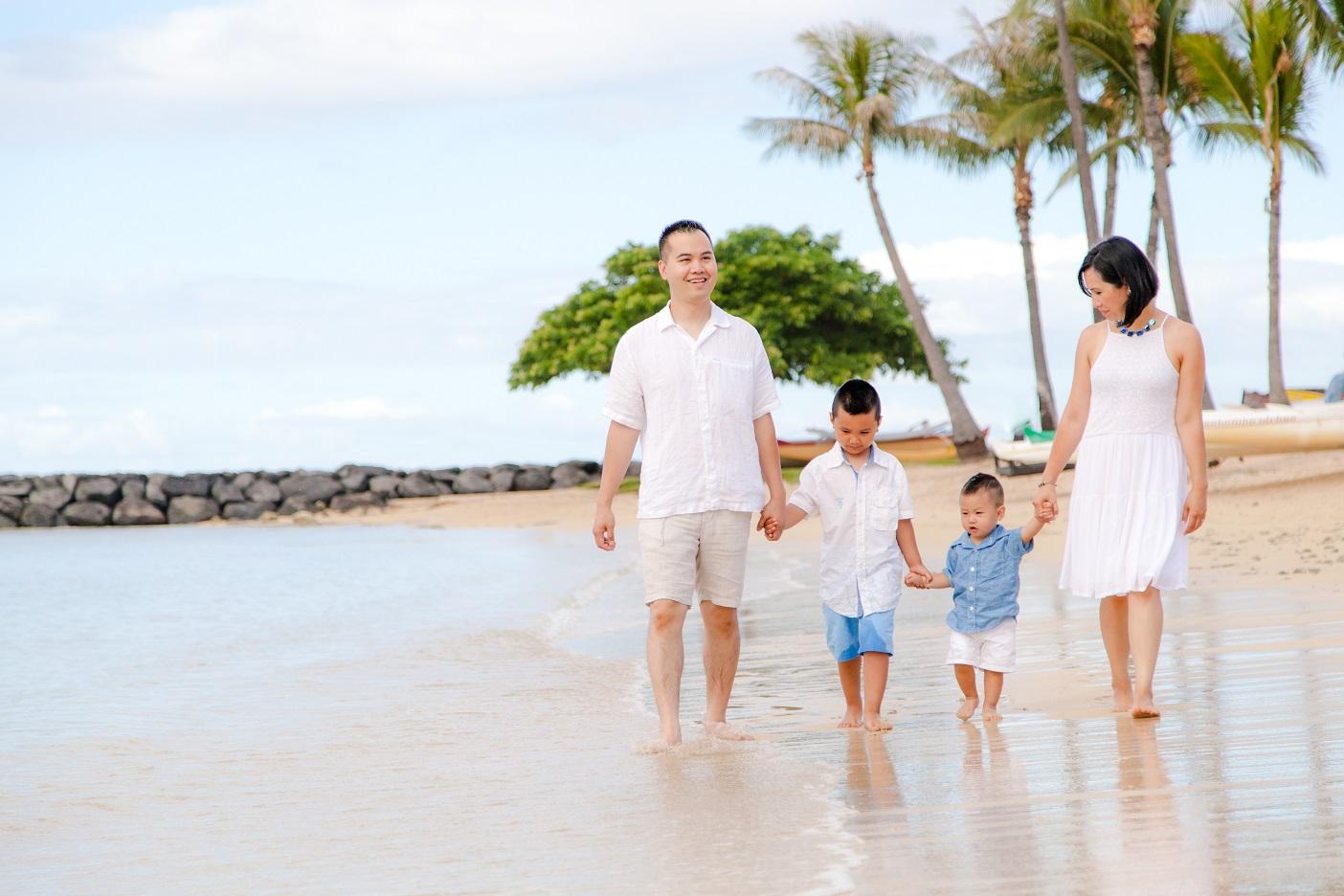 waikiki family beach photographer
