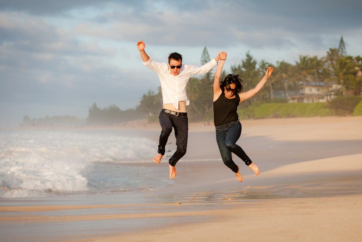 oahu north shore wedding proposal surprise photographer