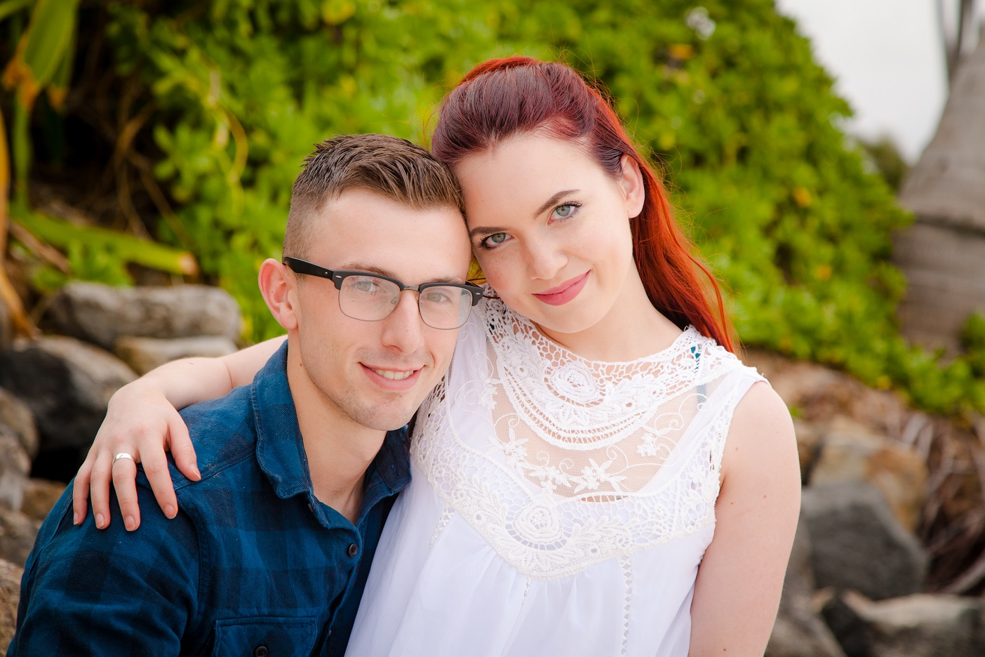 oahu sunset proposal couples beach photographer