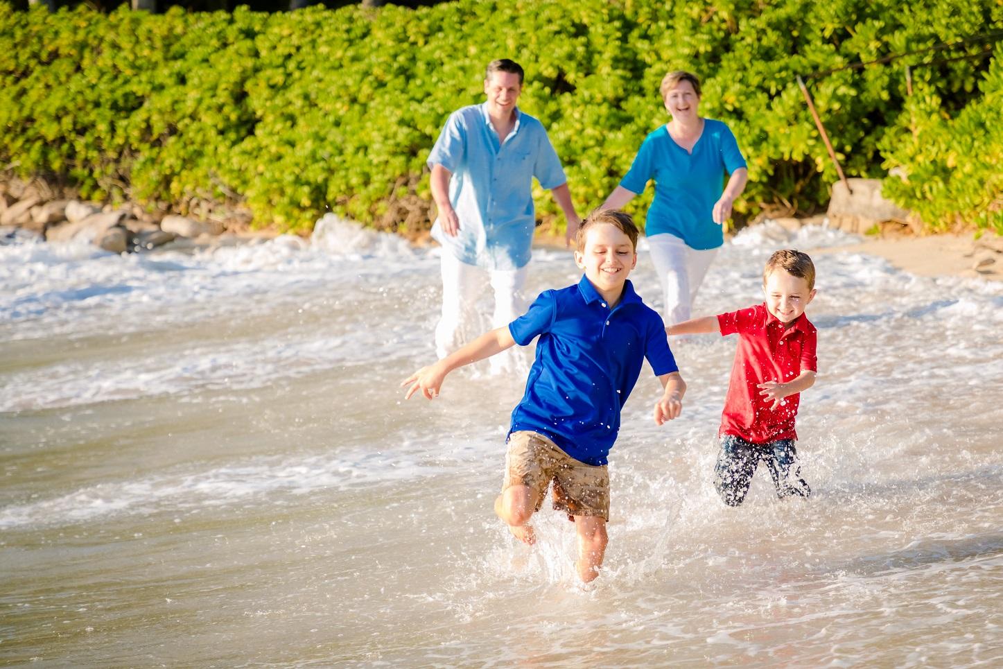 family beach photos ko olina aulani oahu hawaii