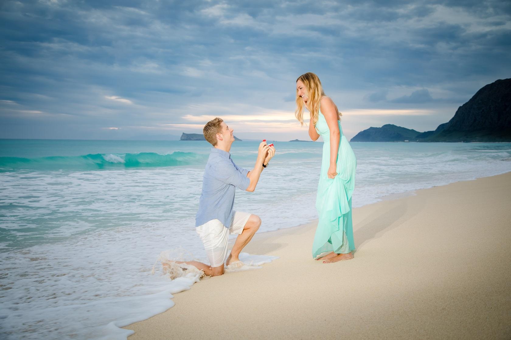 engagement proposal portrait