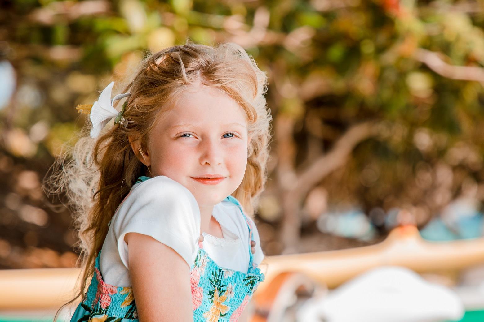 childrens headshot portrait