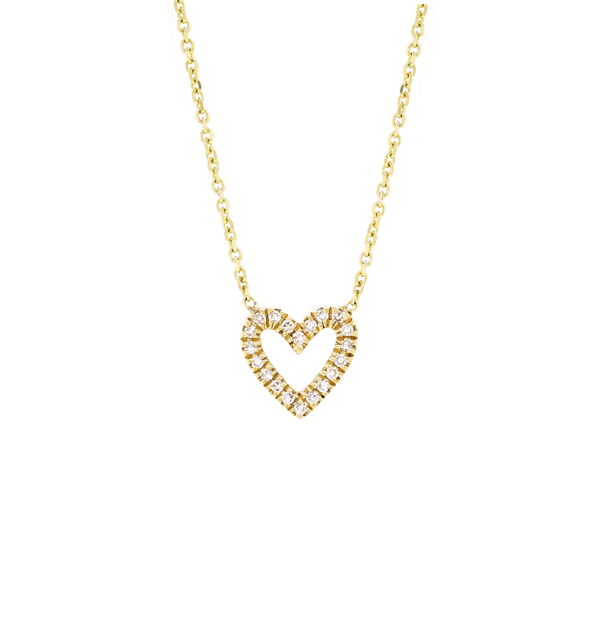 Pave Diamond Heart Necklace Open Yellow.jpg