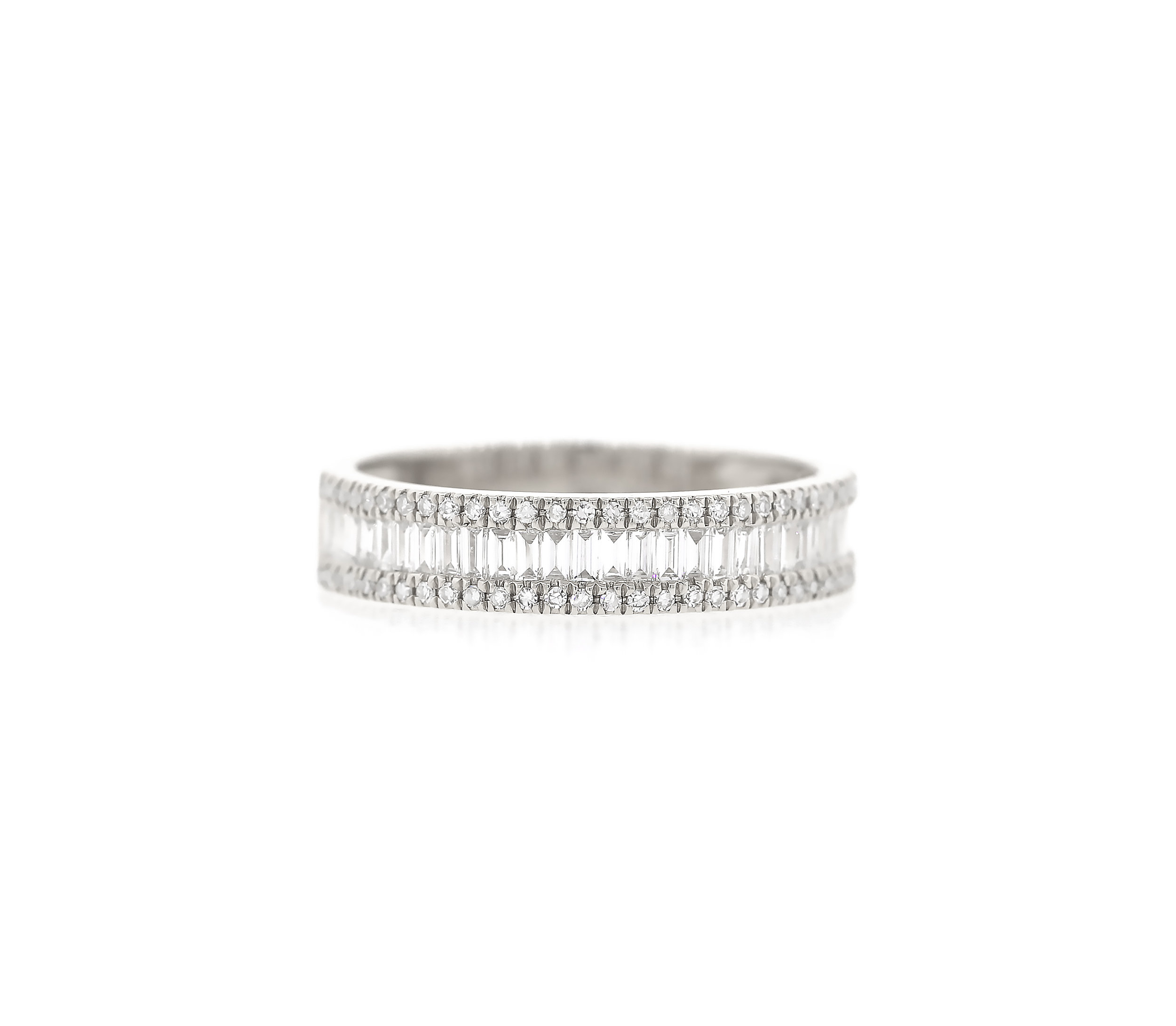 Baguette and pave diamond ring thick 3 front.jpg