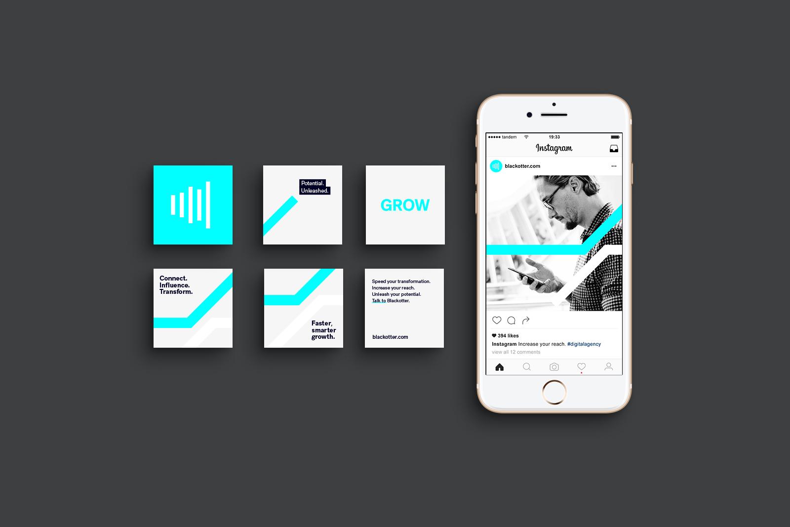 blackotter-branding-logo-designer-perth-instagram