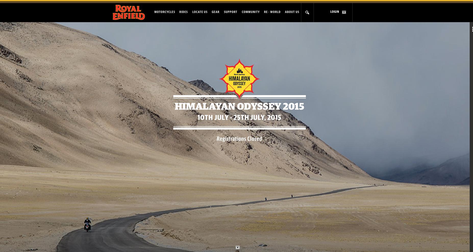 Royal Enfield - Himalayan Odyssey