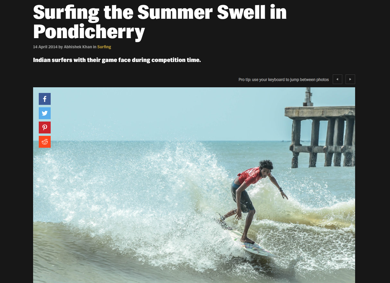 Surfing the Summer Swell