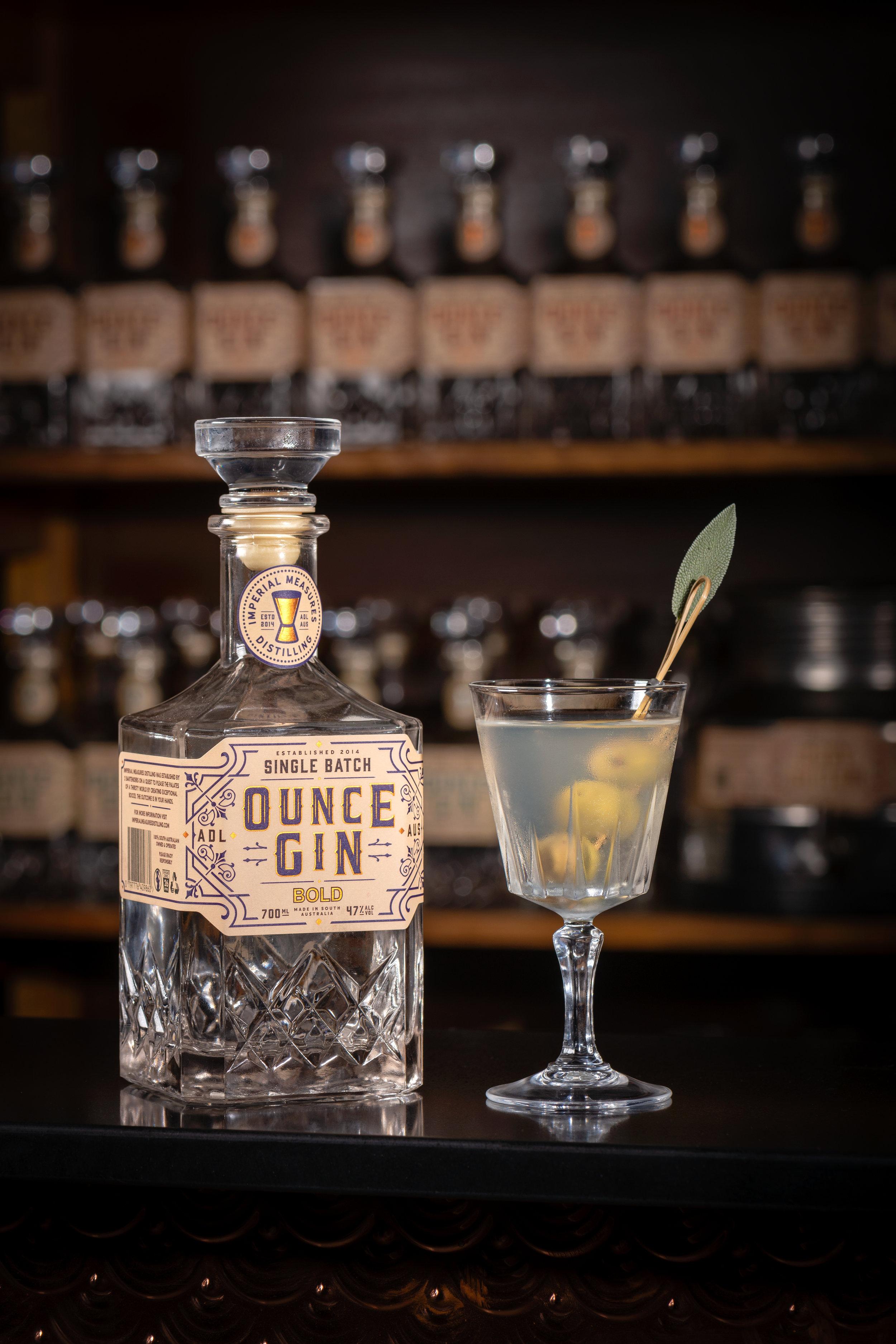 Ounce Gin 'Bold' - Martini