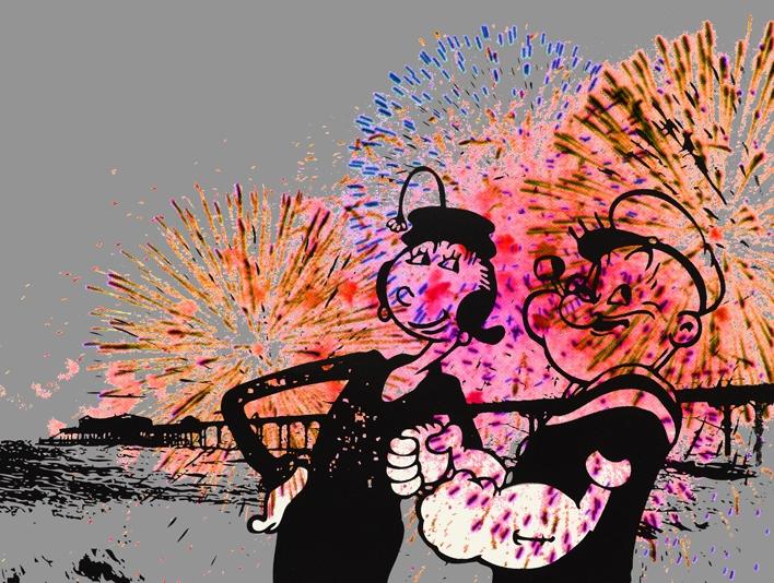 'Popeye & Olive Permabulate' by Loren Beven